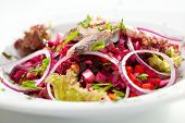 Salad of Beetroot and Herring