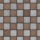 Brown-Gray Pavement, Seamless Tileable Texture.