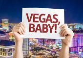 Vegas, Baby! card