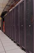 Supercomputer racks
