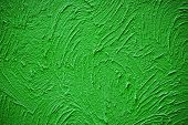 Cement Green Grunge Paint Background