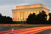 Abraham Lincoln Memorial at night - Washington DC, United States