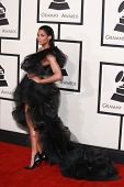 LOS ANGELES - FEB 8:  Ciara at the 57th Annual GRAMMY Awards Arrivals at a Staples Center on February 8, 2015 in Los Angeles, CA