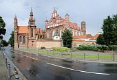 St. Anne's Church And Bernardine Monastery Panorama