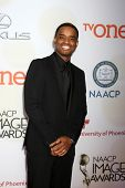 LOS ANGELES - FEB 6:  Larenz Tate at the 46th NAACP Image Awards Arrivals at a Pasadena Convention Center on February 6, 2015 in Pasadena, CA