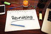 stock photo of recruitment  - Recruiting  - JPG