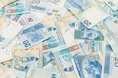image of twenty dollars  - Twenty dollar Hong Kong dollar - JPG