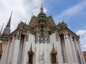 stock photo of vihara  - Large Vihara in Wat Pho  - JPG
