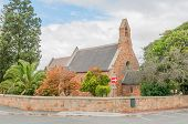pic of trinity  - Holy Trinity Church in Caledon an important town in the Overberg region in the Western Cape Province of South Africa - JPG