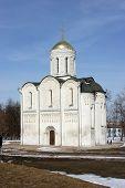 Russian Church In Vladimir-city poster