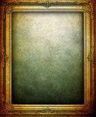 grunge picture frame background