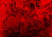 Постер, плакат: Красный картина фон