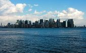 New York, view from Lady Liberty