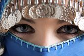 stock photo of arabic woman  - middle eastern culture - JPG