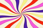 Colorful Rainbow Twirl Background