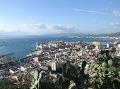 Gibraltar From The Top Of The Rock