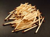 Bunch Of Match Sticks