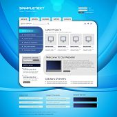 Vektor-Website Design-Templates