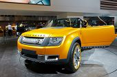 FRANKFURT - SEP 17: Land Rover DC100 Sport shown at the 64th Internationale Automobil Ausstellung (I