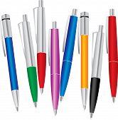 Set Of Color Pens