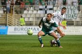 KAPOSVAR, HUNGARY - SEPTEMBER 10: Unidentified players in action at a Hungarian National Championshi