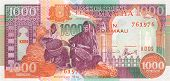 1000 Shillings Banknote