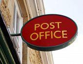 Sinal. Sinal de correios.