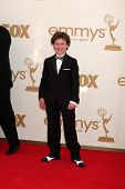 LOS ANGELES - SEP 18:  Nolan Gould arriving at the 63rd Primetime Emmy Awards at Nokia Theater on Se