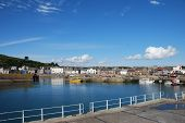 View of Stonehaven Harbour