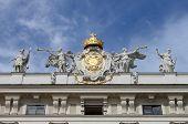 Fassade der Hofburg Palace