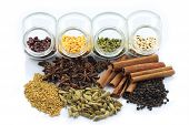 Colorful Herbs And Nuts