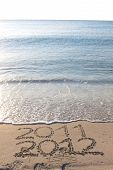 New Year 2012 On The Beach