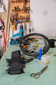 Leather Craft Or Leather Working An Steering Wheels poster