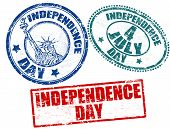 Independece Day Stamps