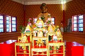 An Altar  At Dhammikarama Burmese Buddhist Temple