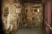 Old And Dirty Jail Cell