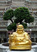 Buddha figure at Wat Arun Temple of the Dawn