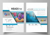 Business Templates For Brochure, Magazine, Flyer, Booklet Or Annual Report. Cover Design Template, E poster