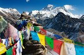 vista do everest do gokyo ri