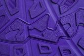 Lilac Texture From A Piece Of Plastic Sole With A Pattern poster