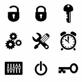 set vector computer icons