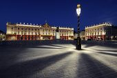 Place Stanislas Nancy France at dawn