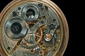 Beautiful Old Clock Machine