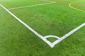 Artificial Turf Football Field