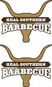 pic of longhorn  - Barbecue symbol - JPG