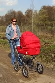 Forty-year Mother And Baby Carriage