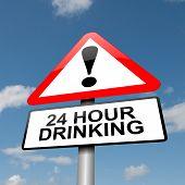 24 Horas bebendo.