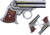 image of derringer pistol  - last chance Weapon - JPG