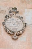 Mother Church. Calimera. Puglia. Italy.