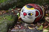 Постер, плакат: Камень кота в Onomichi